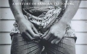 "The cover image of the book ""Tatau - A History of Samoan Tattooing"""