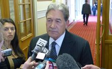 Media question Winston Peters on Thursday.
