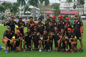 Papua New Guinea finished unbeaten in the East Asia Pacific Group A qualifiers.
