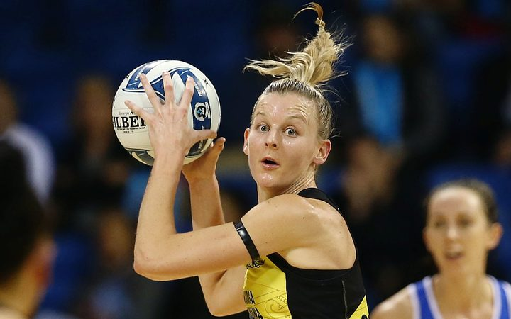 Katrina Grant has been Silver Ferns captain for the past two years.