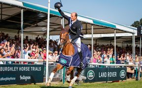 Tim Price wins Burghley 2018.