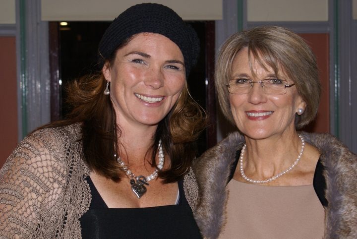 Ros Hodgkins (right) with her daughter Emma Kipps. Ros is a founding member and the acting president of the Cult Information and Family Support network