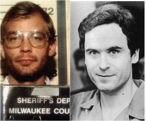 Serial Killers, Jeffrey Dahmer and Ted Bundy