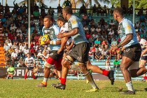 The Fijian Drua made a winning start against Melbourne Rising.