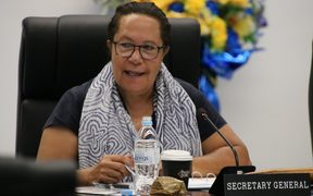 The Secretary-General of the Pacific Islands Forum Secretariat, Meg Taylor