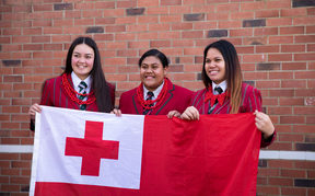 Takapuna's Westlake Girls High School has a population of 2200 students and only 1 percent of them are Tongan.