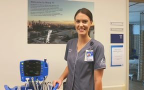 Charge nurse Kate Bridgeman is reponsible for organising the nursing staff in Ward 77 at Auckland City Hospital