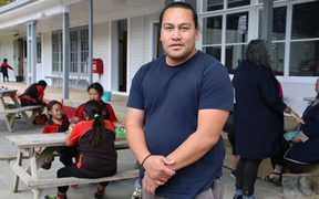 Kaiako or teacher Arthur Taunuka grew up in Auckland and understands the struggle of many Māori to connect to their homeland.