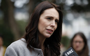 Jacinda Ardern at Wellington High School