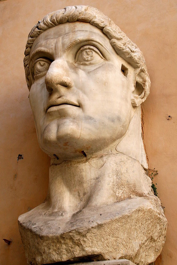 Emperor Constantine was responsible for making Christianity the state religion of the Roman Empire.