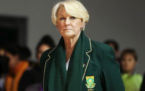 Former Australia coach Norma Plummer who is now in charge of South Africa.