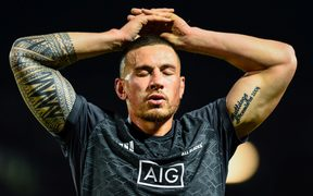 All Black midfielder Sonny Bill Williams.