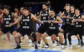 Tall Blacks will perform the haka and sing the national anthem in Maori only ahead of their match against Lebanon tonight.