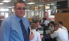 Botany Downs Secondary College principal Mike Leach says modern approaches to learning are increasingly expensive.