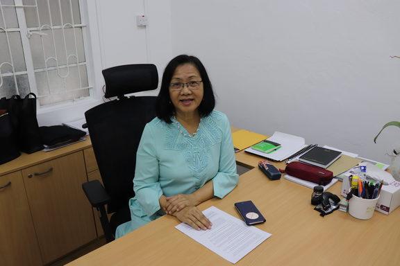 MP for Petaling Jaya, Maria Chin Abdullah.
