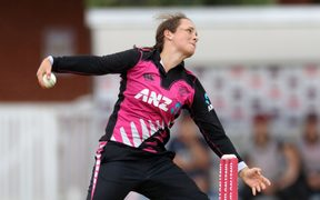 Legspinner Amelia Kerr is part of the White Ferns spin heavy bowling line-up.