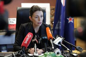 PM Jacinda Ardern announces that Labour MP Meka Whaitiri will be stripped of her ministerial roles.