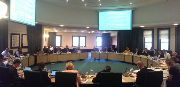 Auckland Council regional strategy and policy committee meeting.