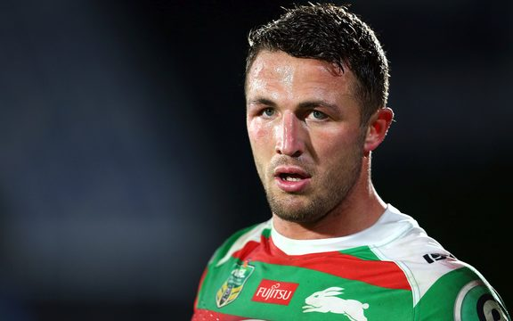 South Sydney and England international Sam Burgess.