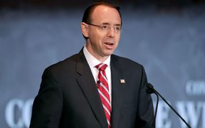US Deputy Attorney General Rod Rosenstein