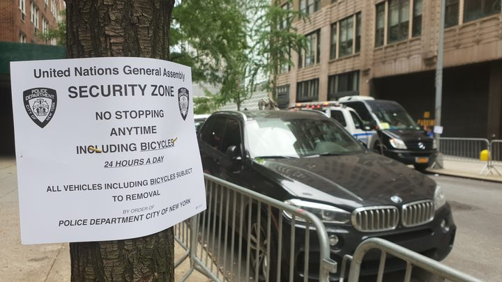 Security in New York ahead of UN General Assembly