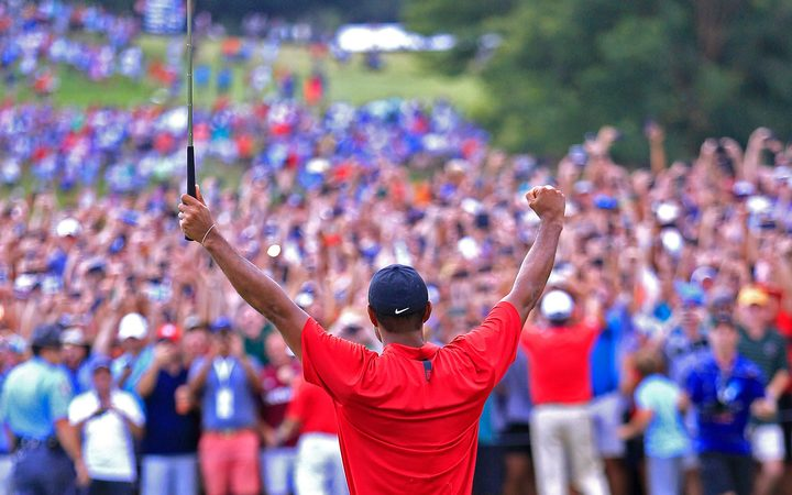 Tiger Woods wins the 2018 Tour Championship