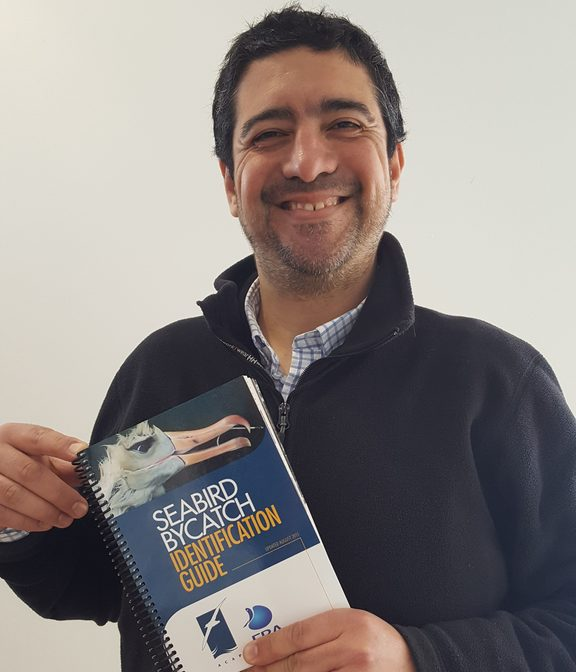 Cristián Suazo works for the Albatross Task Force in Chile.