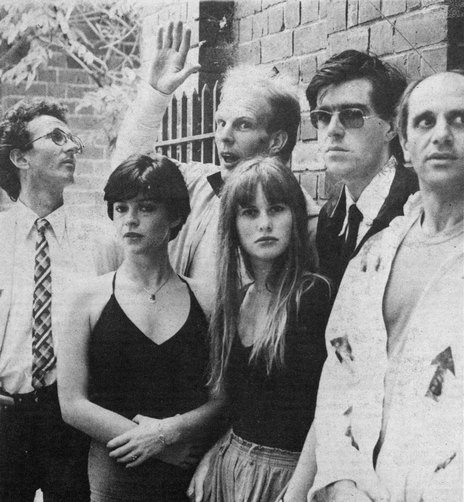 The Crocodiles, 1980. Jenny Morris second from left