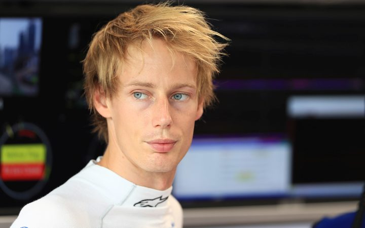 Brendon Hartley.
