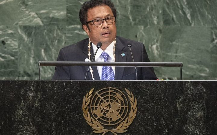 Palau President, Tommy Remengesau Junior, addresses the UN General Assembly