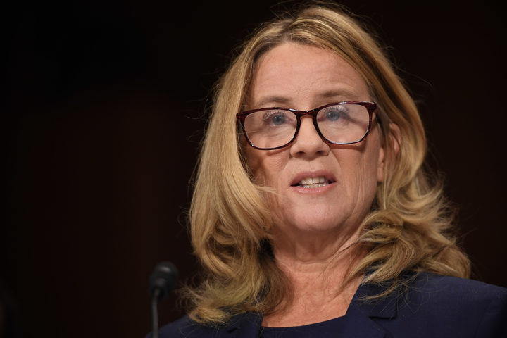 Christine Blasey Ford, the woman accusing Supreme Court nominee Brett Kavanaugh of sexually assaulting her at a party 36 years ago, testifies before the US Senate Judiciary Committee.