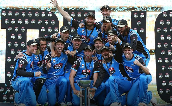 Big Bash champions the Adelaide Strikers.
