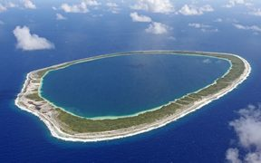Taiaro atoll in French Polynesia
