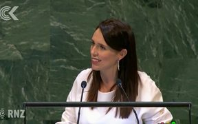 Let's act together, not in isolation – Jacinda Ardern tells UN: RNZ Checkpoint