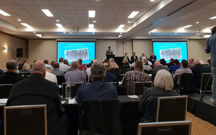The annual Harness Racing Conference in Auckland.