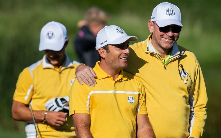 Europe sweeps foursomes matches to build 5-3 lead in Ryder Cup
