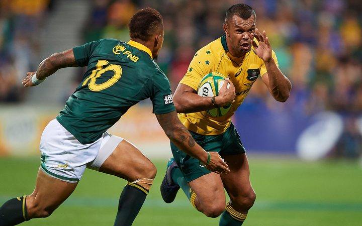 Wallabies utility back Kurtley Beale.