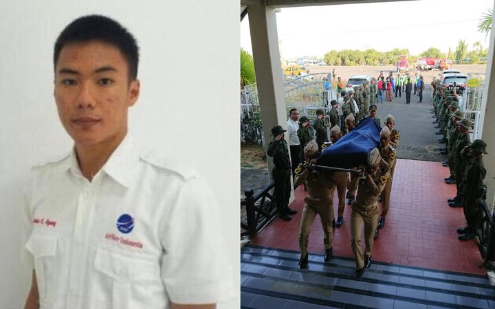 Anthonius Agung died while working as an air traffic controller during the Indonesian earthquake, with his body carried away for burial by local soldiers.