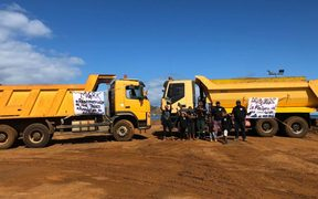 Protesters shut down SLN's Tiebaghi mine in New Caledonia's far north