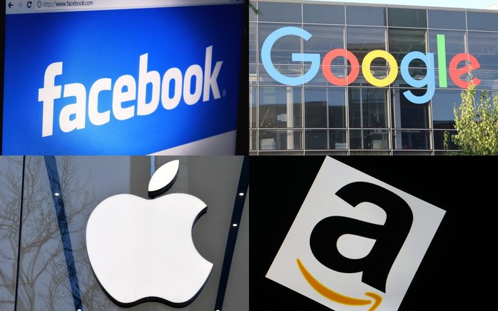 Facebook, Apple, Amazon and Alphabet - the parent company of Google - are standing against a proposed Australian law allowing access to private data.