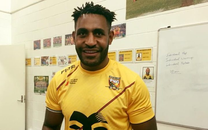 Wellington Albert is back in PNG to take on the PM's XIII
