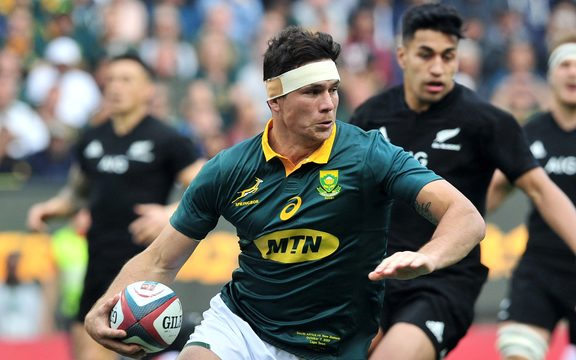 Francois Louw of South Africa.