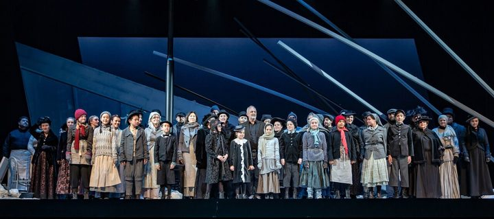 Cast of New Zealand Opera's La bohème