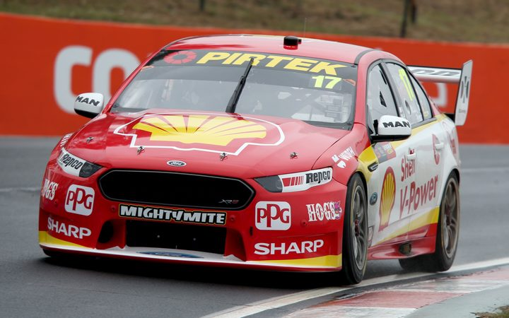 Scott McLaughlin in action at Bathurst.