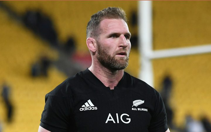 All Blacks captain Kieran Read.