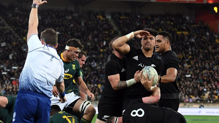 Replacement All Black's flanker Ardie Savea