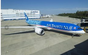 Air Tahiti Nui's first Boeing 787