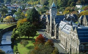 New Zealand's universities rank 16th in the world.