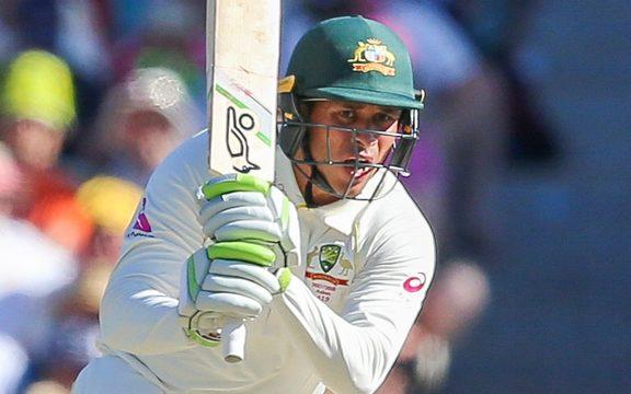 Usman Khawaja top scored for Australia with 85.