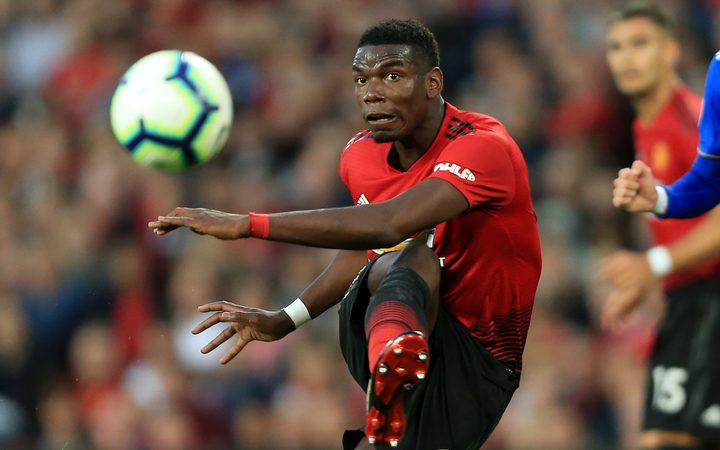 Paul Pogba of Manchester United has had a very public falling out with manager Jose Mourinho